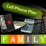 Family Cell Phone Plan Graphic 500