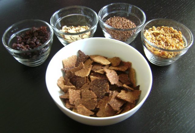 Make your own cereal lab familyconsumersciences craisins almonds pecans walnuts raisins ccuart Choice Image