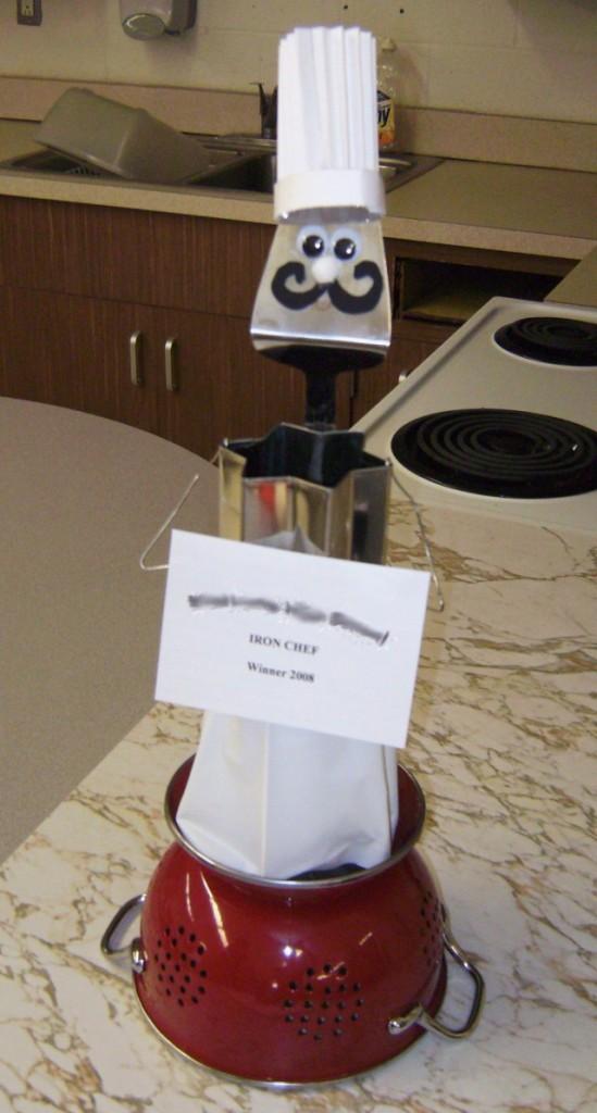 Iron Chef Trophey