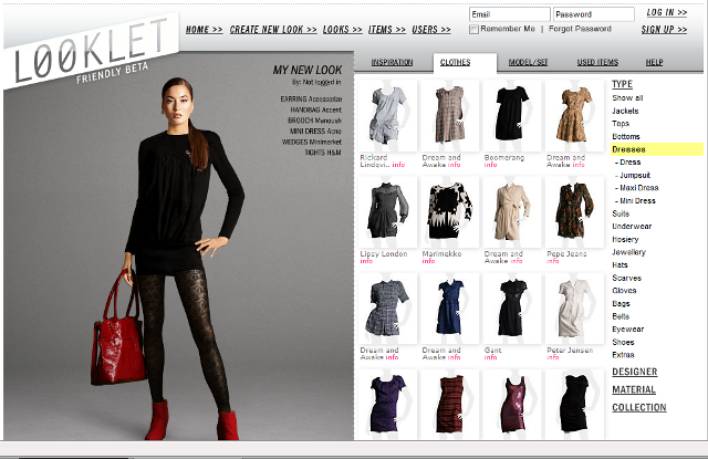 Designing Clothes Online Designing looks is free