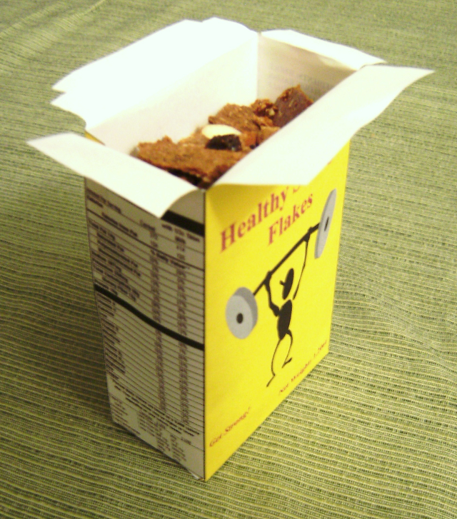 Make your own cereal lab for Design your own cereal box template