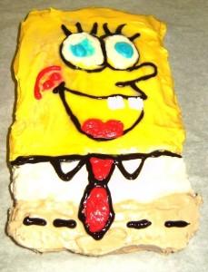 Student Sponge Bob Cake